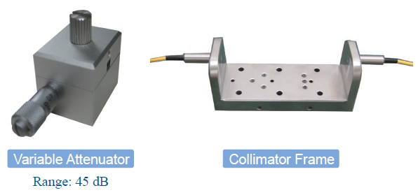 Collimator Frame and Variable Attenuator
